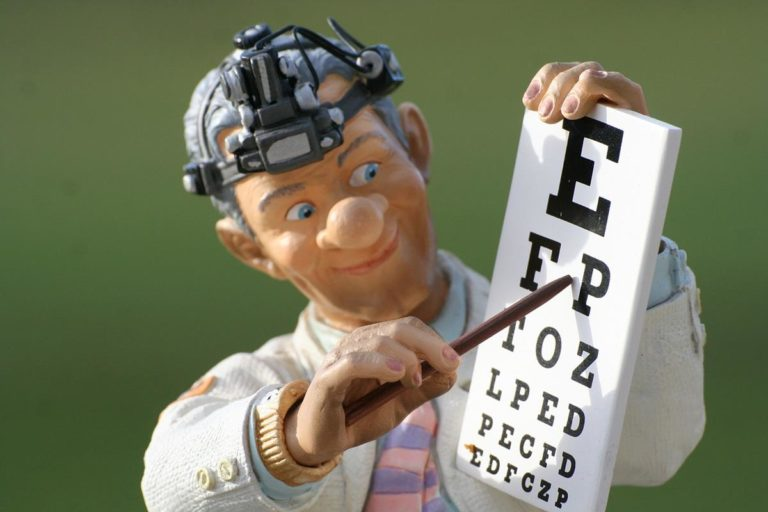 Jak często chodzicie na badania okulistyczne?